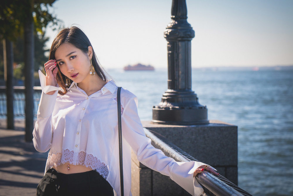 Wear the Trend: Trumpet Sleeves | Athena Chuang Shirt | Of Leather and Lace | A Fashion Blog by Tina Lee