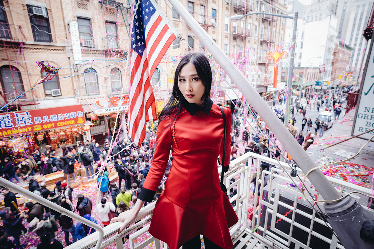Why Chinese People Wear Red during Chinese New Year | Athena Chuang Red Dress | Of Leather and Lace
