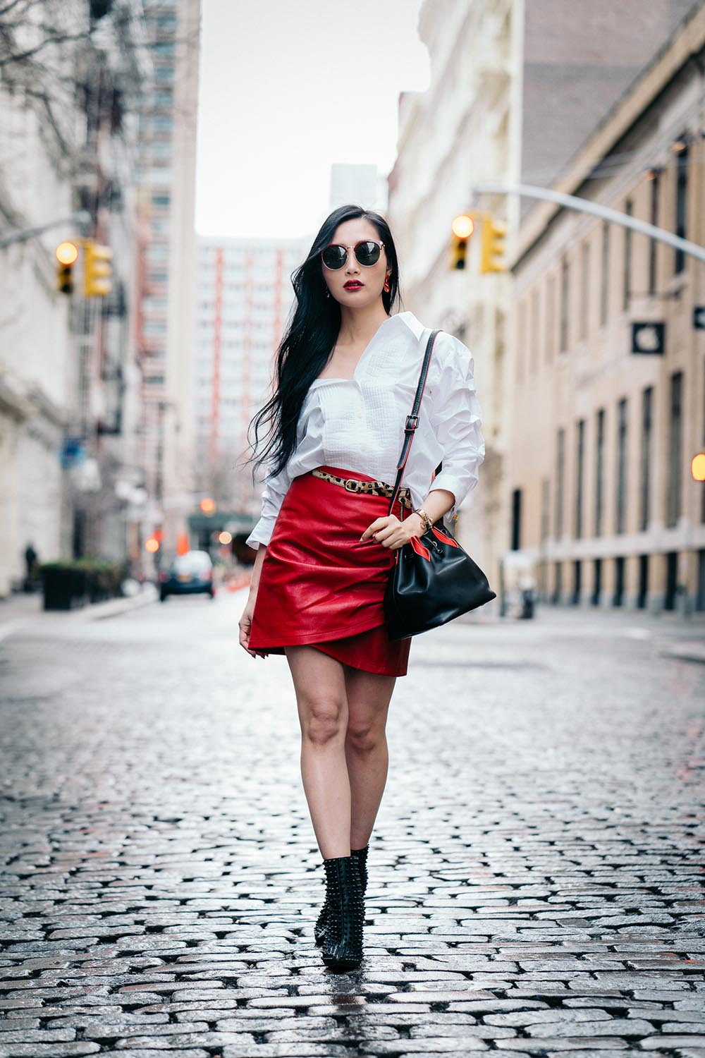 Off The Shoulder Shirts for Spring   Of Leather and Lace - A Fashion Blog by Tina Lee