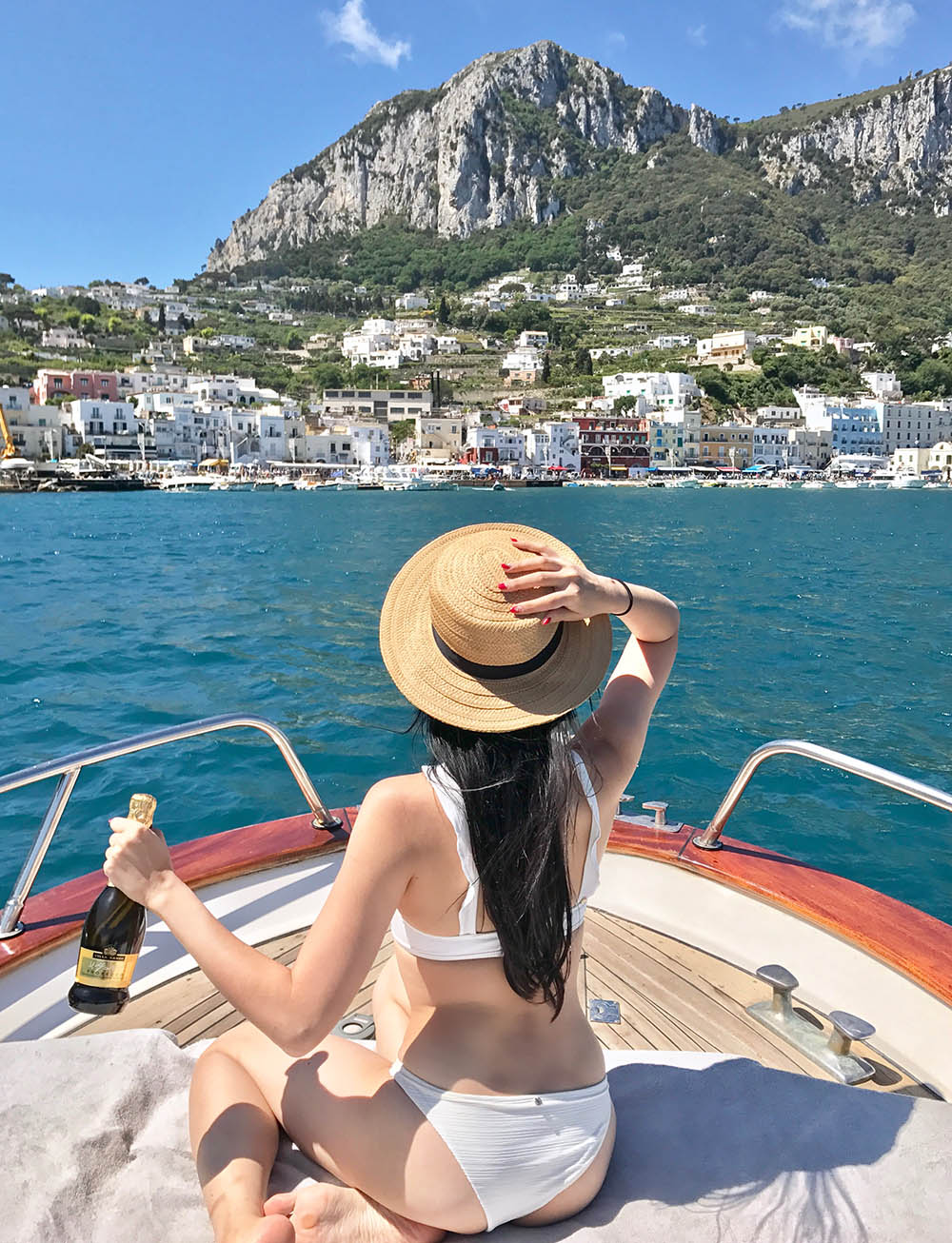 Tina Travels: Best Way to See Capri - Private Boat Tour in Capri, Italy | Of Leather and Lace