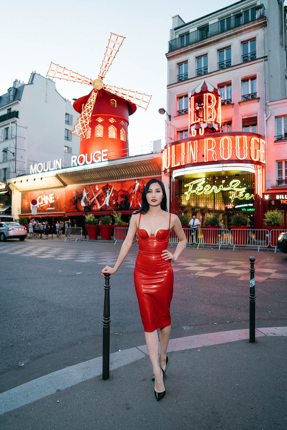 Tina Travels: Paris After Dark - Visiting the Infamous Moulin Rouge | Of Leather and Lace