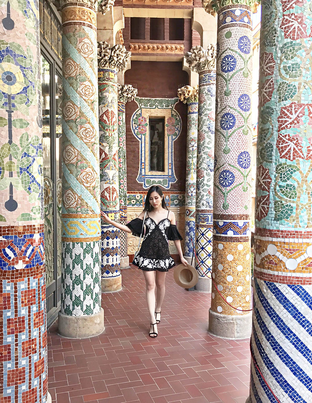 Hidden Gem of Barcelona - Palau de la Musica Catalana | Of Leather and Lace