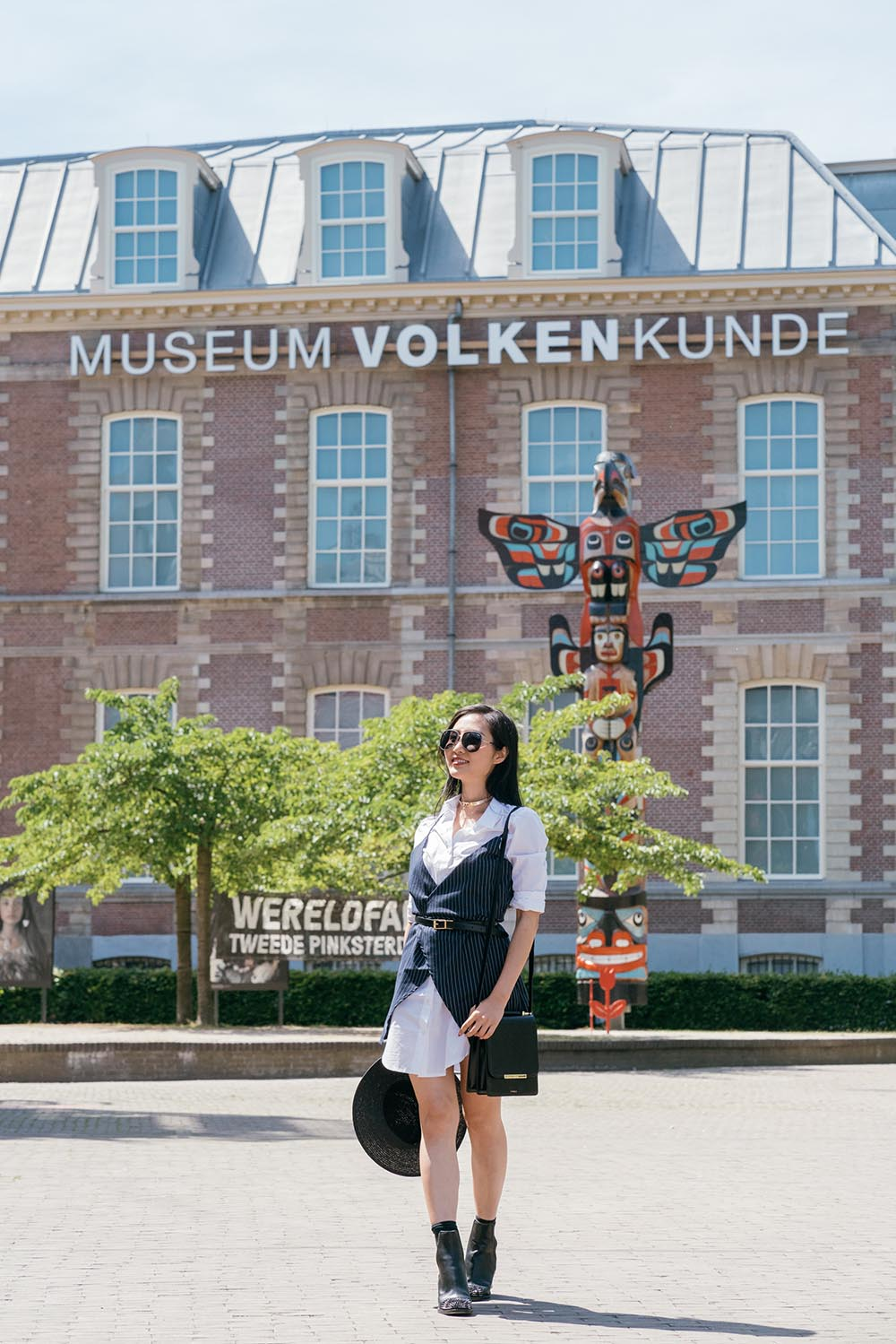 Tina Travels: Seeing My Dress on Display at Museum Volkenkunde - Cool Japan Exhibition in Leiden, Netherlands | Of Leather and Lace