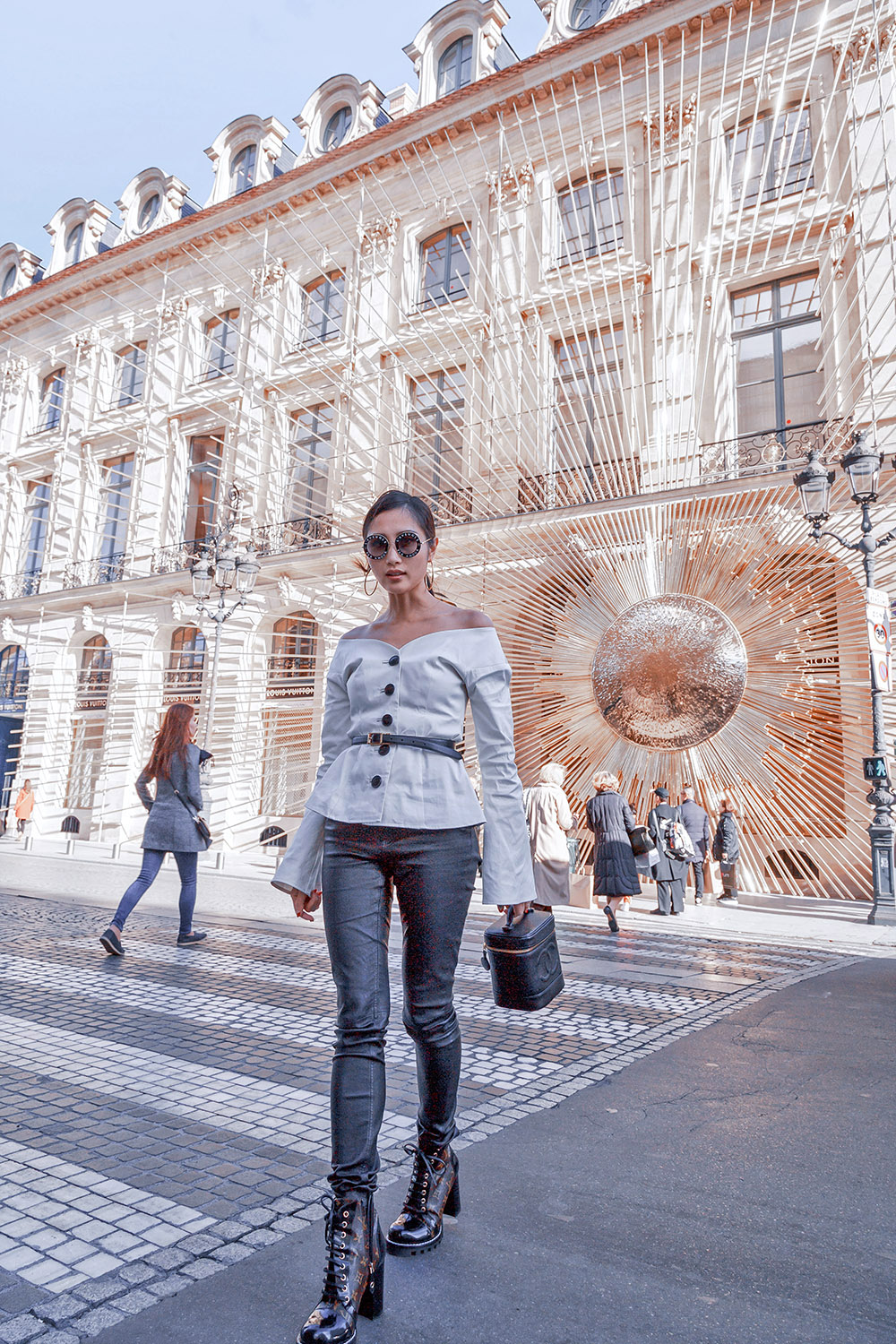 A View of the New Louis Vuitton Place Vendome Store | Of Leather and Lace - Fashion and Travel Blog by Tina Lee